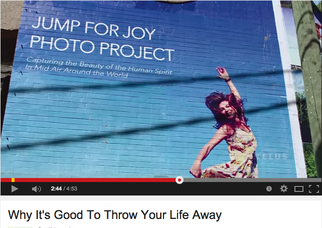 Telus Optic TV mini Doc filmed while creating the 9000 sq ft Vancouver Jump for Joy Mural