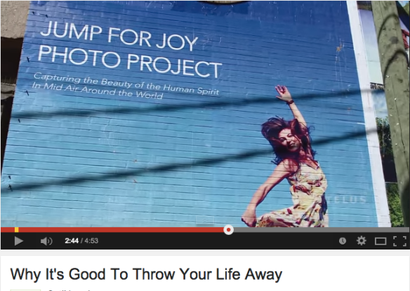 Telus Optic TV mini Doc filmed while creating the 9000 sq ft Vancouver Jump for Joy Mural