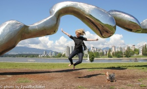 Sweet write up by Fiona Forbes about her jump for joy photo shoot May 26, 2013