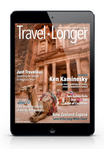 Published in Issue 4 April 2013 Travel Longer Magazine