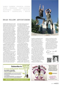 LivingNow Magazine October 2012 issue page 3