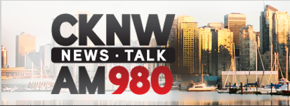 Live interview on CKNW News Talk Radio AM980