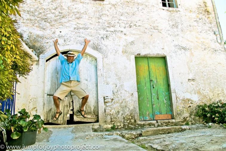 Corfu joy! Photo by Eyoälha Baker www.jumpforjoyphotoproject.com