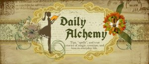 Interview in The Daily Alchemy by Michelle Dobbins February 22, 2013