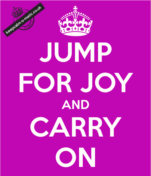 Jump for Joy and Carry on