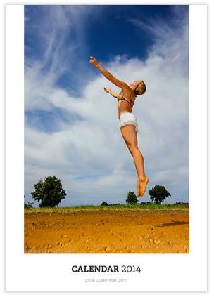 Jump for Joy 2014 Calendar