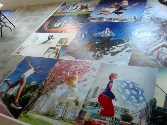 Alittle taste of Jump for Joy Mural