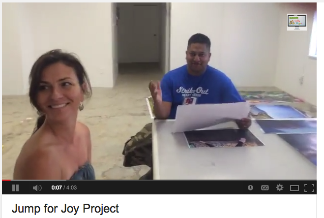 Interview with Ricky Shetty Process of making the Jump for Joy Photo Mural