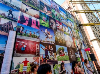 Perspective of the Jump for Joy Photo mural