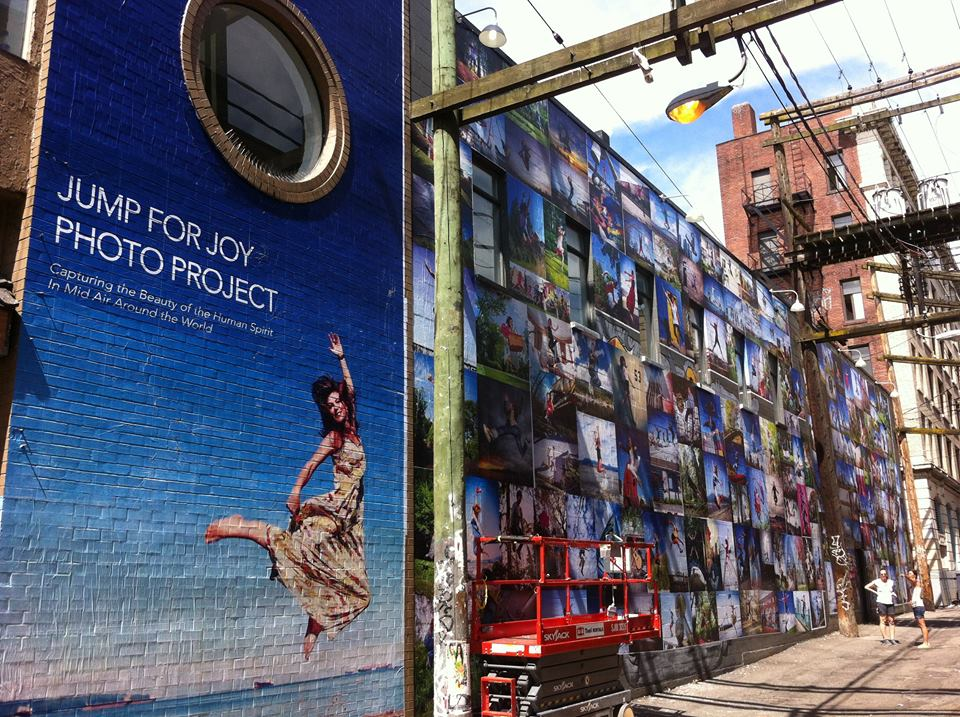 Vancouver Jump for Joy Photo Mural