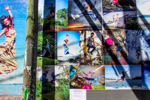 Vancouver Jump for JOy Photo Mural by Eyoalha Baker2