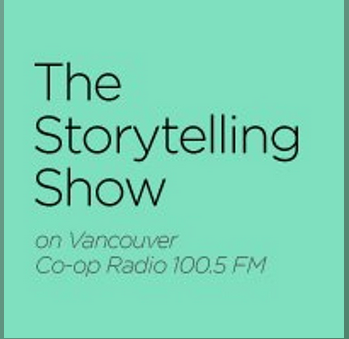 Eyoalha Baker guest on The Storytelling Show w Vanessa Woznow on Coop Radio July 2015