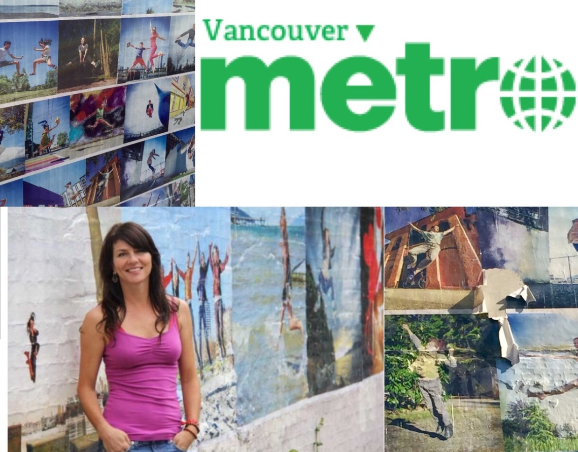 Metro News Vancouver Eyoalha to serve at Save On Meats to save up for Wall of Joy Mural repairs by Emily Jackson