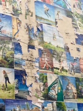 Wall of Joy mural, repairs needed