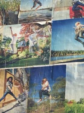 Wall of Joy mural, repairs needed