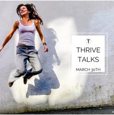 Jumping selfie by Eyoalha Baker. Artist Talk at Thrive Art Studio.