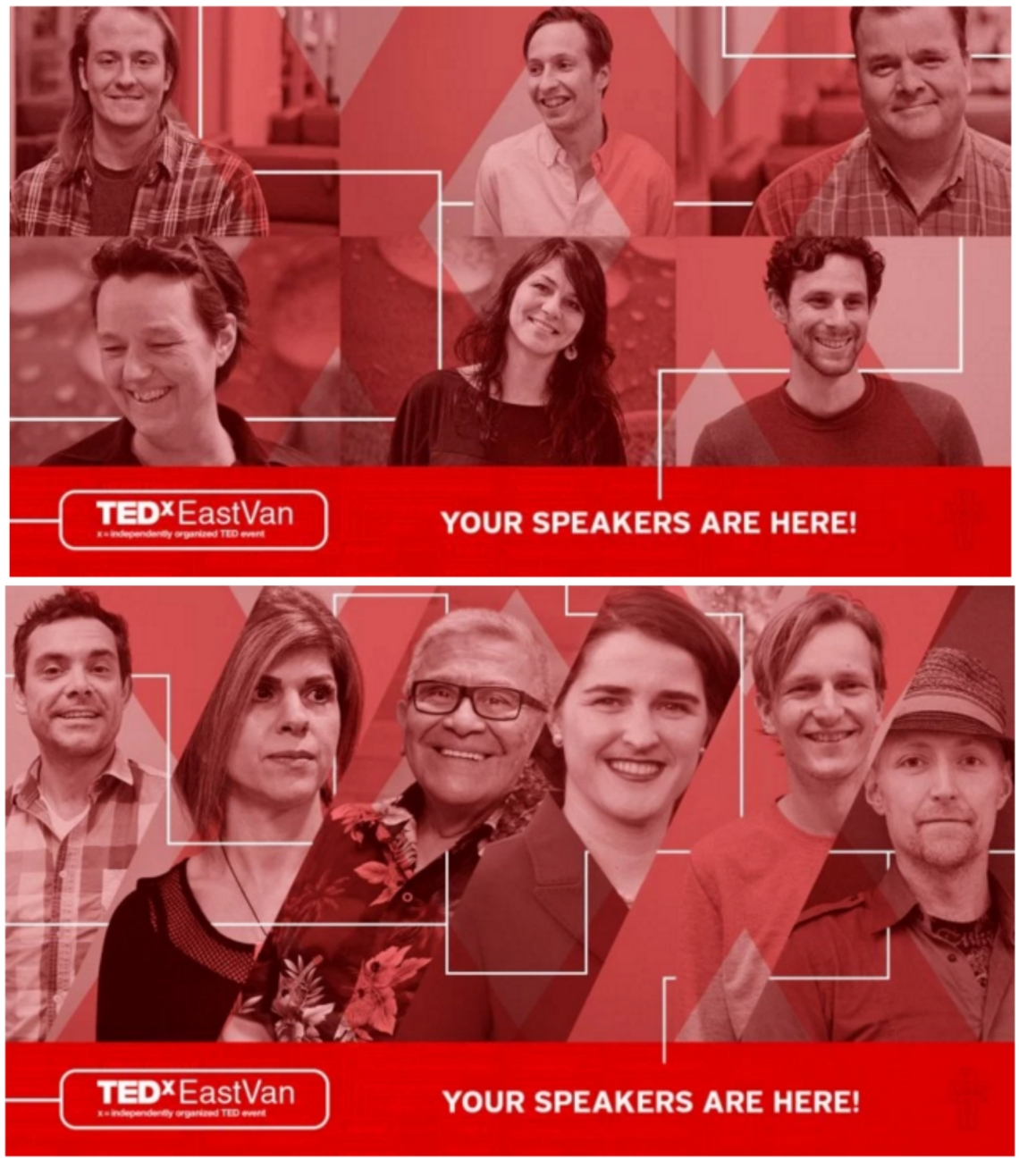 The Tedxeastvan speakers - April 23, 2016 in Vancouver, BC Canada