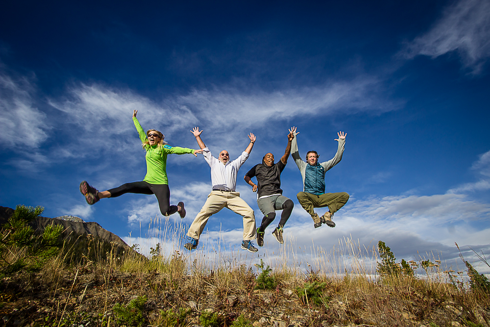 HATCH Group Jump! Photo by Eyoalha for the Jump for Joy Photo Project.