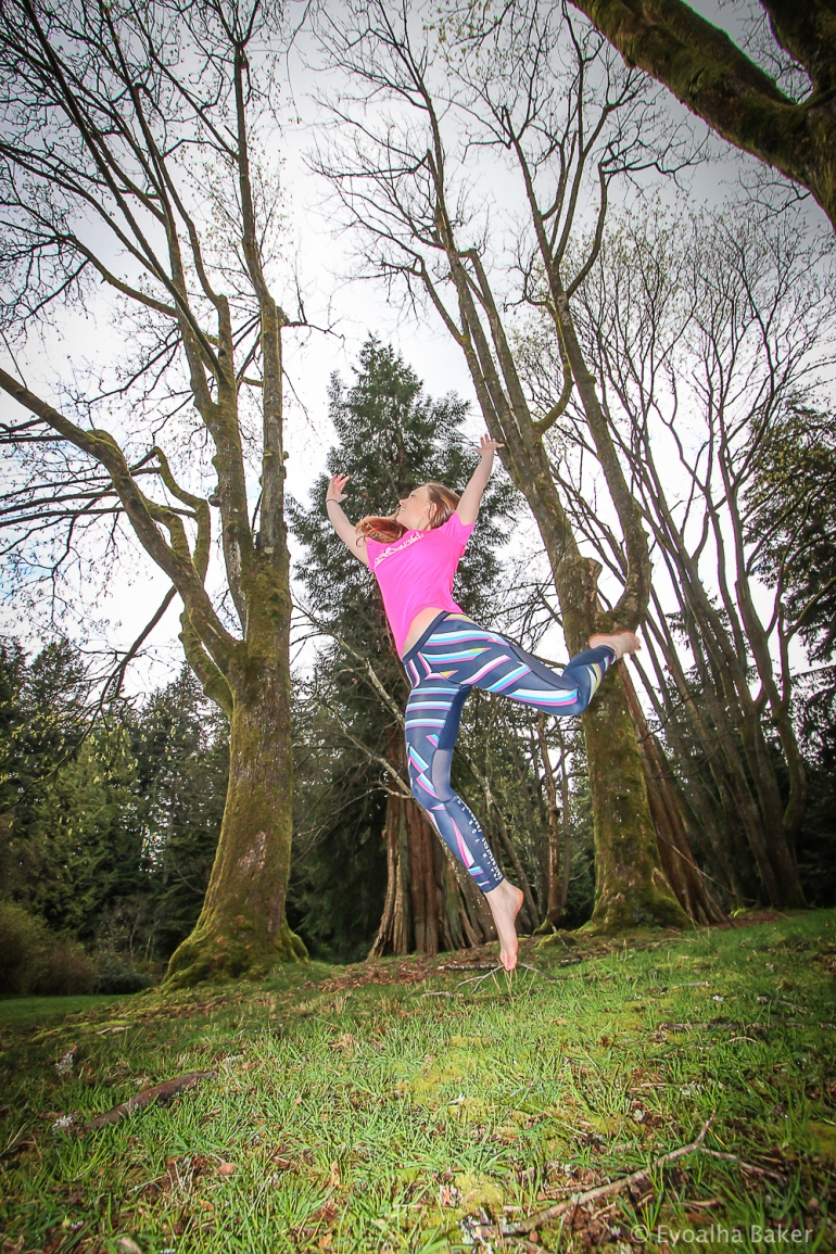 Photo of Ashleigh Wiles by Eyoalha Baker for the Jump for Joy Photo Project
