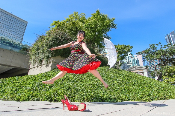 Photo of Courtney Spahan by Eyoalha Baker for the Jump for Joy Photo Project